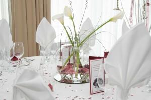 Hochzeit Tafeldekor 2735